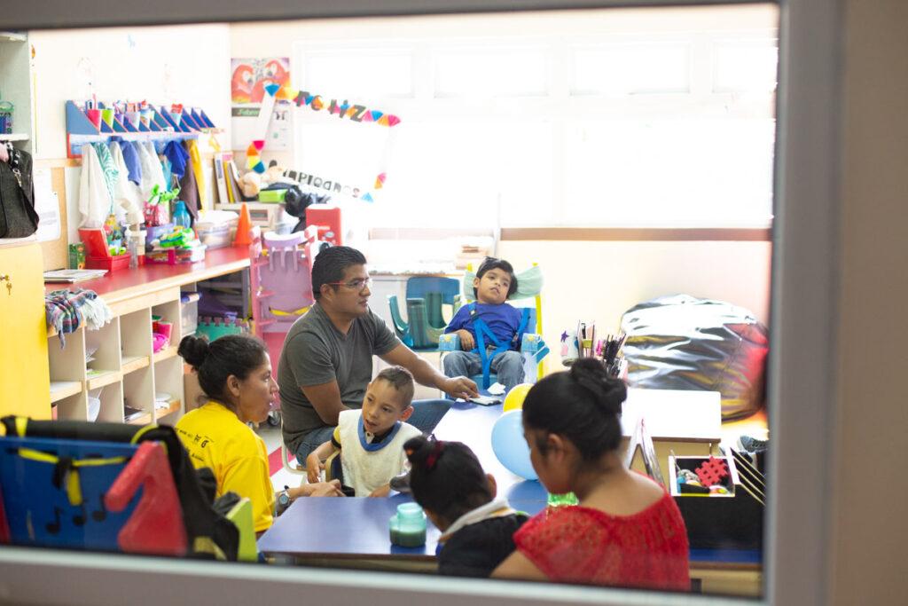 Classroom in Latin America