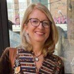 Elaine Robertson, Anne Silverrain Award recipient for 2021.