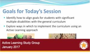 Active Learning Webinars