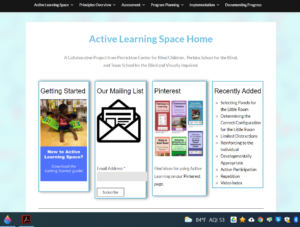 Active Learning Space website